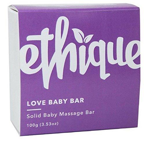 Ethique Eco-Friendly Baby Massage Bar, Love Baby Bar 3.53 oz by Ethique (Image #1)