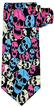 OCIA® Cráneo de Halloween de Corbata para hombres - EA01 Original