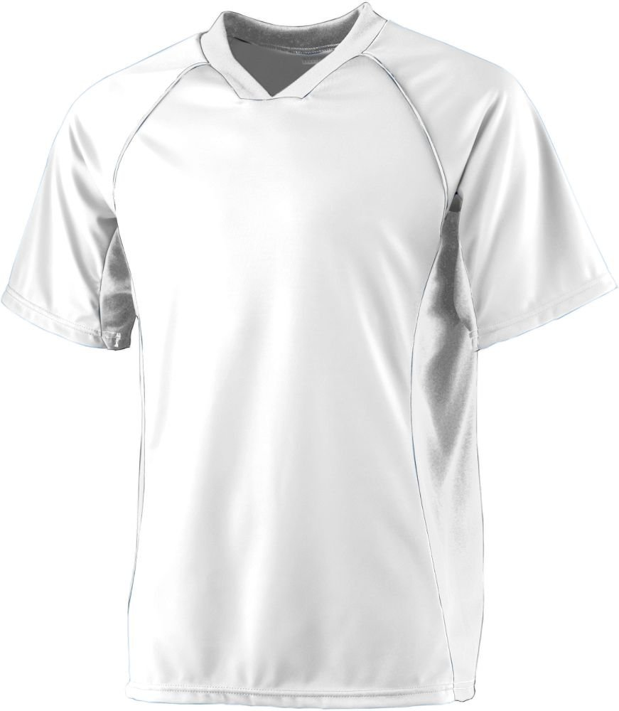 Augusta SportswearメンズWickingサッカーシャツ B000ROINPI Medium|ホワイト/ホワイト ホワイト/ホワイト Medium
