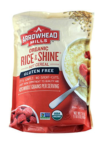 Arrowhead Mills Organic Gluten Free Rice & Shine, 24 Ounce Arrowhead Mills Hot Cereal