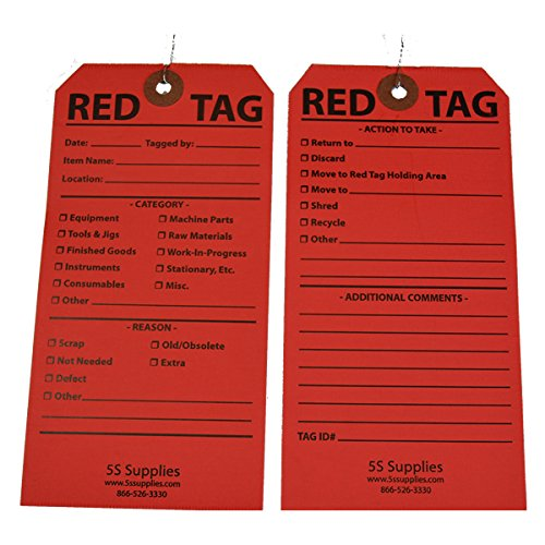 5s red tags - 2