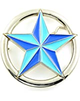 "Men's Women's Adult Unisex ""Star"" Wheel Belt Buckle"