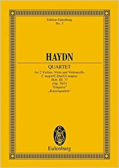 Utorrent Descargar En Español Quartetto Op. 76 N. 3 Do (imperatore) (hob Iii/77) Poche Novelas PDF