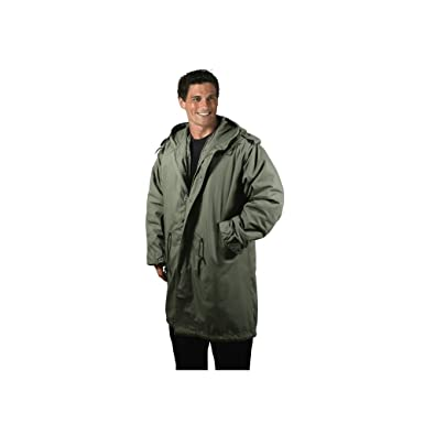 Amazon.com  ROTHCO M-51 FISHTAIL PARKA   OLIVE DRAB - Size  2XL ... 1e4a80382a5