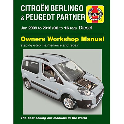 Citroen Berlingo & Peugeot Partner Diesel June 08-16 08 To ...