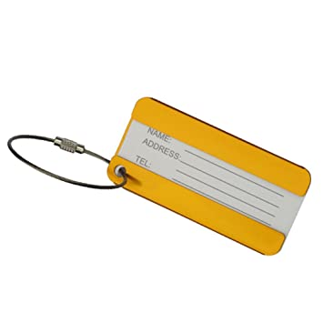 8af58282915 Amazon.com  Luggage Tag, HP95(TM) 1pc Luggage Tag Suitcase Business ...
