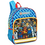 Lego Minifigure Backpack with Lenticular 3-D Graphics
