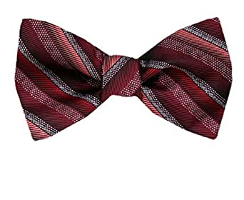 FBTT-12139 - Self Tie Bow Tie XL for Men Big and Tall - Many colors and Patterns Available.