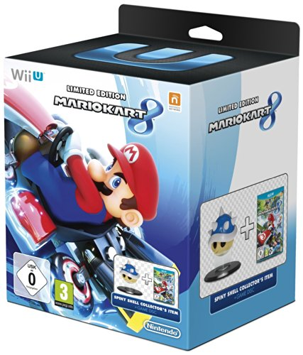 Mario Kart 8 Limited Edition with Spiny Blue Shell Collector's Item UK PAL Version[Nintendo Wii U] NEW by Nintendo (Image #1)