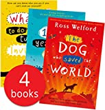Ross Welford Collection 4 Books Set (The 1,000-year-old Boy, What Not to Do If You Turn Invisible,Time Travelling with a Hamster, The Dog who saved the World)