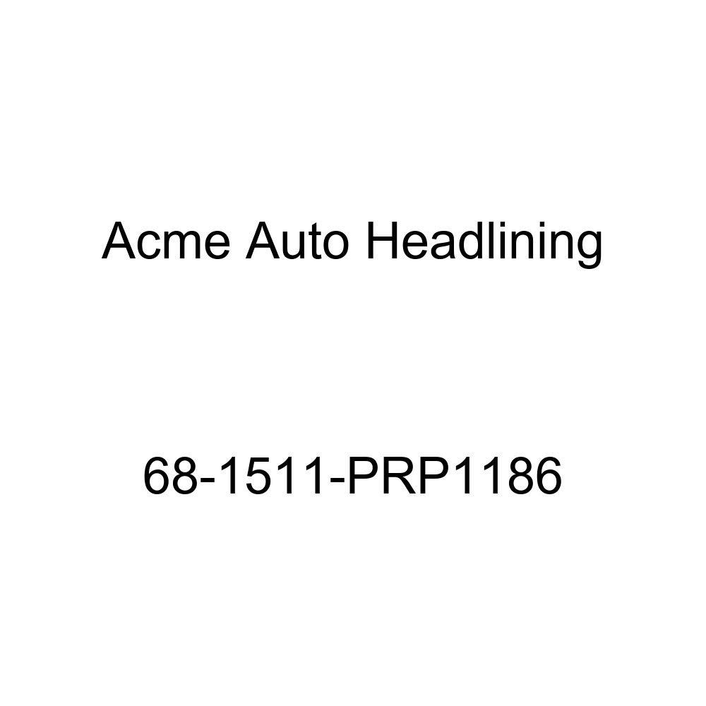Acme Auto Headlining 68-1511-PRP1186 Buckskin Replacement Headliner Pontiac Bonneville Catalina /& Executive 2 Door Hardtop 5 Bow