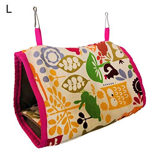 Heaven2017 Soft Warm Triange Hammock for Pet Bird Nest Hamster Rabbit House Bed