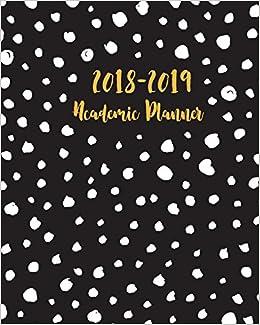 Amazon.com: Academic Planner 2018-2019: Calendar Monthly ...