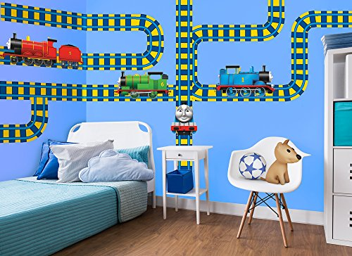 Thomas & Friends Large Tracks Wall Decal Set 3 (Friends Decal Set)