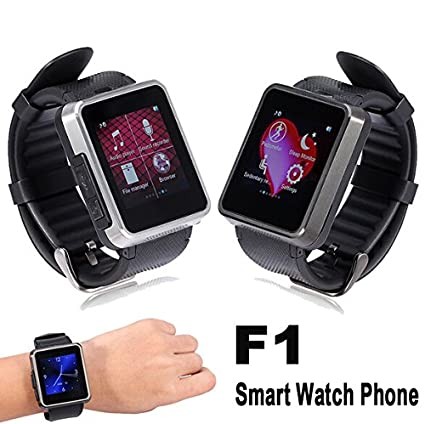 Develop F1 Smartwatch Cell Phone Waterproof Bluetooth Wristwatch Pedometer SIM 1.3mp Camera Anti Lost Sleep Monitor Sync Call for IOS Apple Iphone 6/6 ...