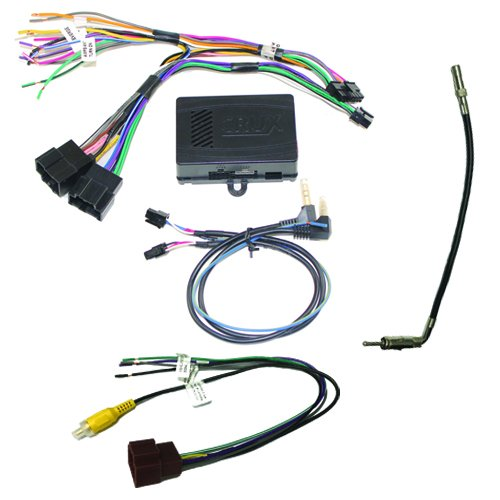CRUX SWRGM-49 radio replacement interface retains Steering Wheel Control functionality and factory Chime feature on select GM LAN 29Bit vehicles with Bose Amplified & Non-Amplified Systems (2006-2015) ()
