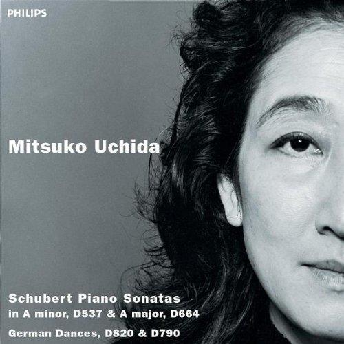 Schubert: Piano Sonatas in A minor, D537 & A major, D664 / German Dances, D820, D790 by Philips