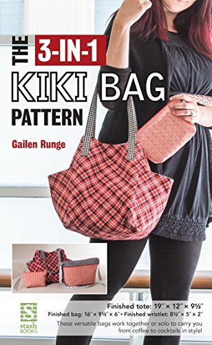 Patterns Fabric Bag (The 3-in-1 Kiki Bag Pattern)