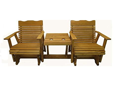 Amazon.com: Kilmer Creek 6 Cedar Settee Glider W/Stained ...