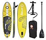 "ZRAY X1 - ALL AROUND Inflatable Stand-Up Paddle Board 9'9"" iSUP Package"