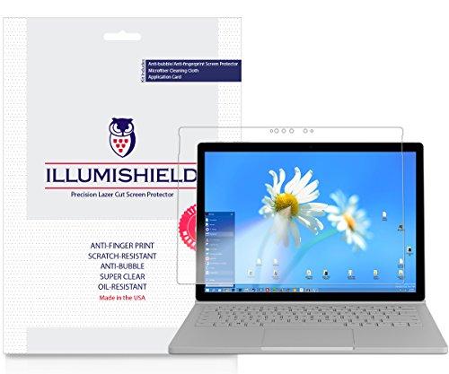 "Price comparison product image Microsoft Surface Book 2 Screen Protector (15"")[2-Pack],  iLLumiShield Screen Protector for Microsoft Surface Book 2 Clear HD Shield with Anti-Bubble & Anti-Fingerprint Film"