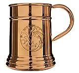Game of Thrones Collectible Copper Stein (Targaryen)