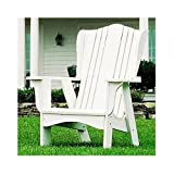 Kid's Adirondack Lawn Chair in Solid Pine (White)