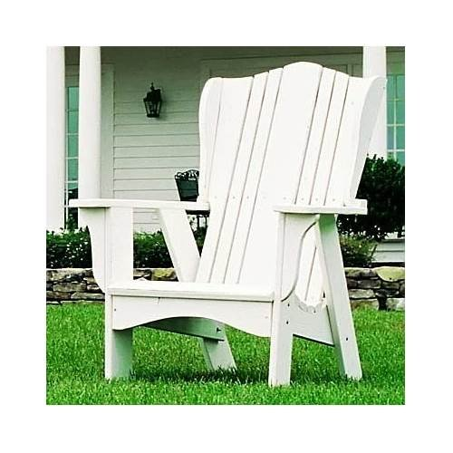 Uwharrie Kid's Adirondack Lawn Chair in Solid Pine (Twilight Blue) ()