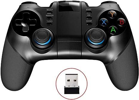 LHTE Controlador PUBG Gamepad, Joystick móvil para Disparador Consola teléfono Android iPhone PC Smart TV Box Bluetooth del Control del Juego del cojín: Amazon.es: Deportes y aire libre