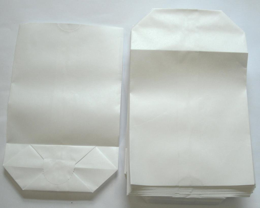 Bodentüte weiß ohne Futter 14x22cm 1000St.