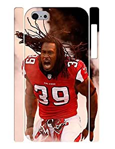 Customized Hipster Dustproof Football Player Pattern Print Skin for Iphone 5C Case