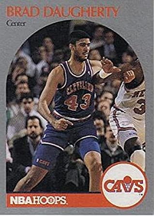 1334f232dcd45 Amazon.com: 1990-91 Hoops Basketball #73 Brad Daugherty Cleveland ...