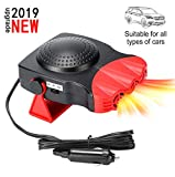 Portable Car Heater, Auto Electronic Heater Fan Fast Heating Defrost...