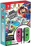 Super Mario Party + Neon Pink /Green Joy-Con Bundle (Nintendo Switch)