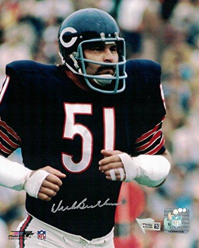 Dick Butkus Autographed Chicago Bears 8x10 Photo Close Up FAN (Butkus Photo Dick)