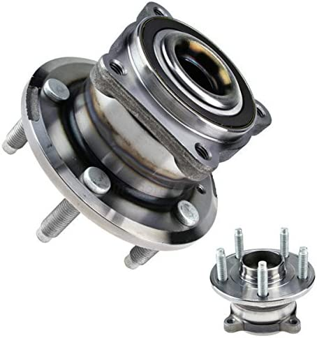 inMotion Parts Rear Wheel Bearing Hub Assembly IMP512446 for Chevrolet Cruze 2015 2012-11 2 pack replace 512446