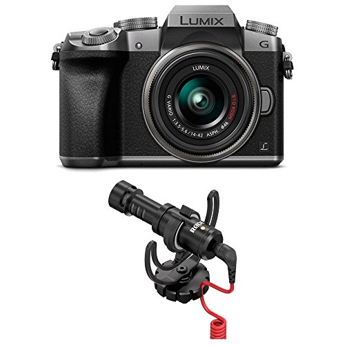 PANASONIC LUMIX G7 4K Mirrorless Camera (Silver) with Rode VideoMicro Compact On-Camera Microphone Review