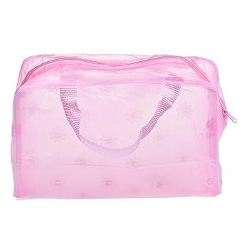 Bolsas, FitfulVan neceser portátil de maquillaje cosmético para aseo de viaje para lavar cepillos de dientes, bolsa organizadora: Amazon.es: Instrumentos ...