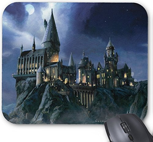 - Gaming Mouse Pad Hogwarts Castle at Night Design for Desktop and Laptop 1 Pack 25x20cm/9.8x7.9in