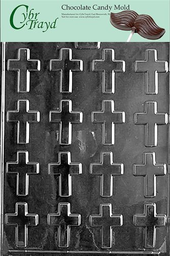 BITE SIZE CROSSES chocolate candy mold ()