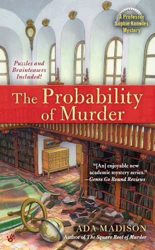The Probability of Murder (Professor Sophie Knowles)