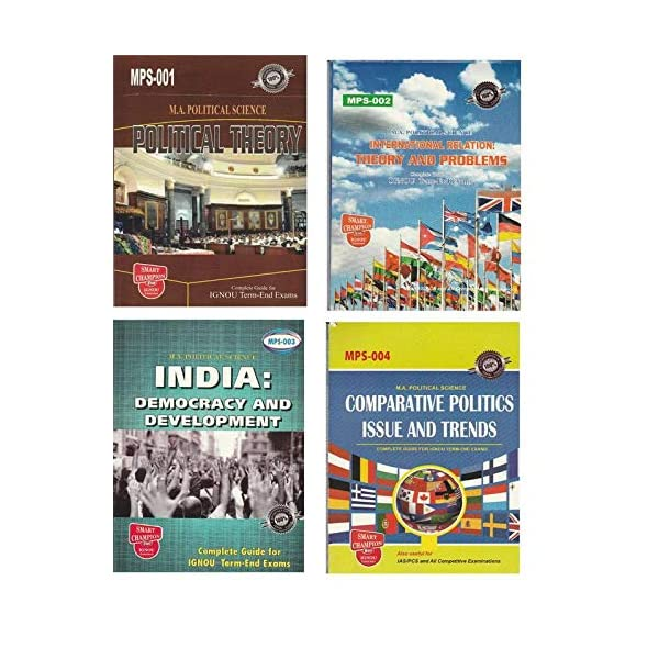 Buy Recommended Political Science Optional Books for UPSC