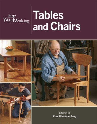 Fine Woodworking Tables and Chairs (The Best Dining Tables)
