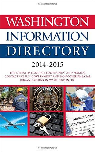 Washington Information Directory: 2014-2015