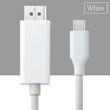 JYCRA Cable USB C a DisplayPort, 6 ft USB Tipo C a DP adaptador ...