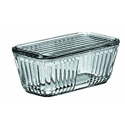 Anchor Hocking 85695L11 Bake 'N Keep Storage Container - 2 Piece Set