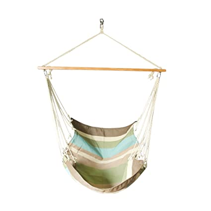 Slack Jack Fabric Swing (Green, Blue and Brown)