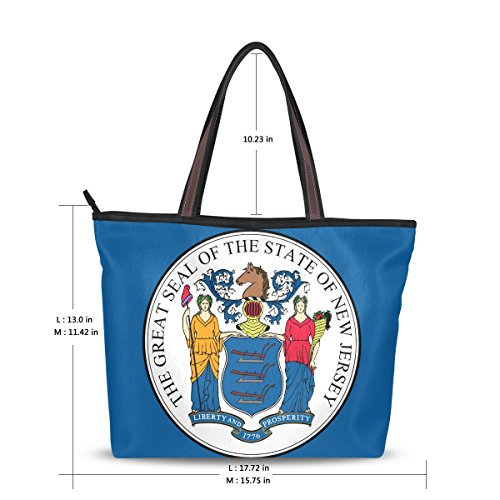 Jersey Shoulder Handbag - 8