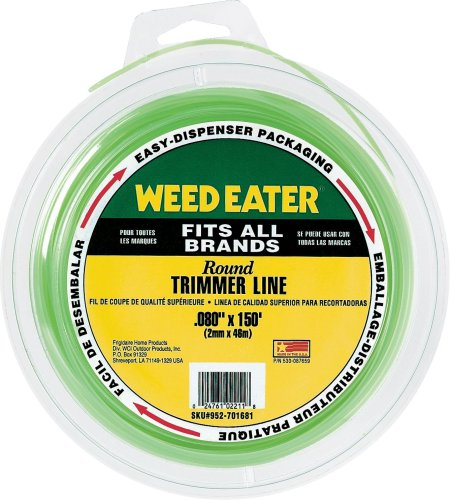 Weed Eater 952701681 0.080-Inch by 150-Foot Bulk Round String Trimmer Line  perfect for residential users