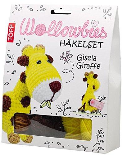 instrucciones wollowbies de ganchillo de Gisela jirafa steckbrief y material para una divertido h/äkelgi RAFFE